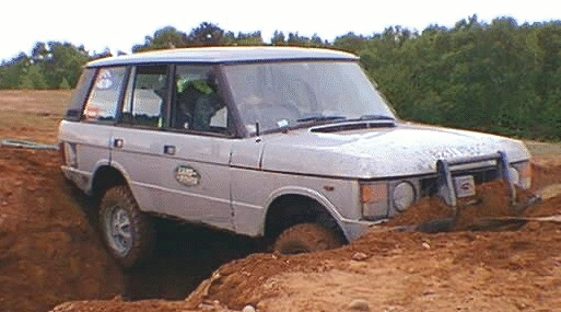 Tonks Range Rover, A little stuck pehaps?