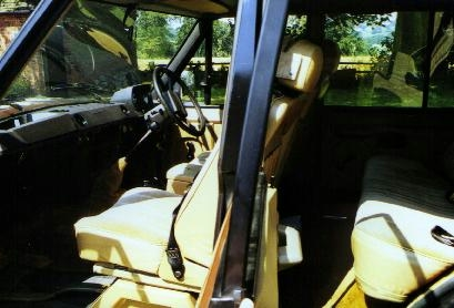 Early 4 Door interior.